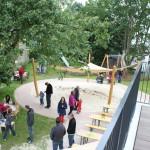 Gemeindefest - Der Garten des Jona-Kindergartens