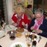 Frauenhilfe im Moormuseum in Geeste