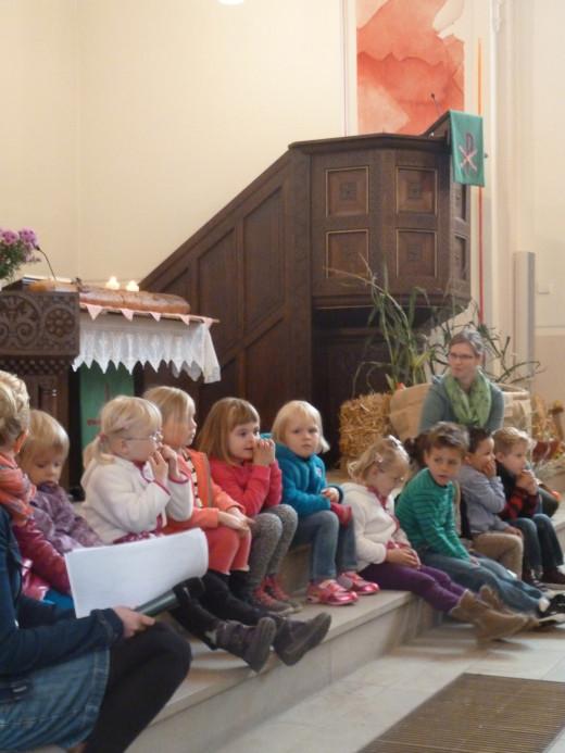 Erntefest im Kindergarten 2013