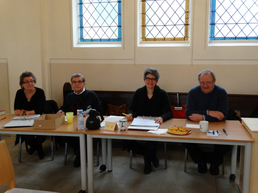 Wahlvoratand in Ochtrup: Renate Martinez, Gerhard Busse, Dr. Dorothee Innig, Manfred Seidlitz