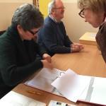 Überprüfung der Wahllisten