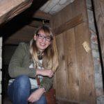 Anne Spill im Glockenturm
